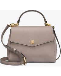 Tory Burch - Robinson Small Top-handle Satchel - Lyst