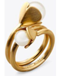 Tory Burch - Bellflower Ring - Lyst