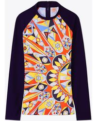 Kaleidoscope cotton and silk kaftan Tory Burch Eastbay Online hhrlGu