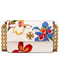 Tory Burch | Kira Floral Double-strap Mini Bag | Lyst