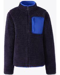 Tory Burch - Sherpa Fleece Jacket - Lyst