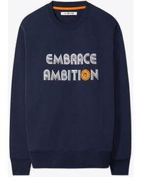 Tory Sport - Embrace Ambition Sweatshirt - Lyst