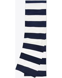 Tory Sport - Tory Burch Broad-stripe Tech Knit Scarf - Lyst
