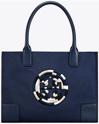 Tory Burch - Ella Embroidered Mini Tote - Lyst
