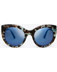 Tory Burch - Retro Cat-eye Sunglasses - Lyst