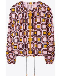 Tory Burch - Digby Packable Jacket - Lyst