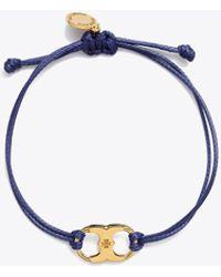 77b5b70dbf7 Tory Burch - Embrace Ambition Bracelet - Lyst