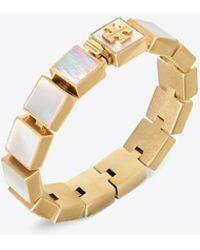 Tory Burch - Semiprecious Line Bracelet - Lyst