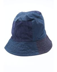 ac660a5a38050 Engineered Garments Olive Nyco Poplin Bucket Hat in Green for Men - Lyst