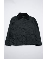9428a66f26eb0 Lyst - Barbour Barbour Brundazuma Wax Navy Jacket Mwx0914Ny72 in ...