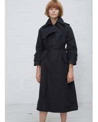 Facetasm - Paper Touch Trench Coat - Lyst