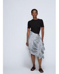 Issey Miyake - Sunset Ruffle Skirt - Lyst