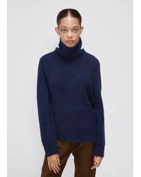 Cedric Charlier - Long Sleeve Turtleneck Sweater - Lyst