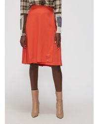 Le Kilt - Pleated Skirt - Lyst