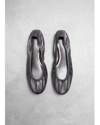 Lanvin - Classic Flat Ballerina - Lyst