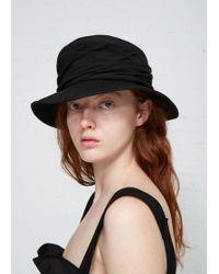 Y's Yohji Yamamoto - Combination Jute Hat - Lyst