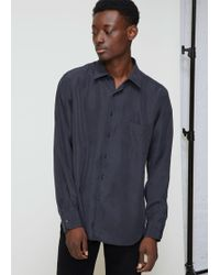 Cobra S.C. - Washed Silk Legacy Button Up Shirt - Lyst