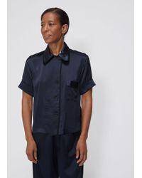 Araks - Short Sleeve Shelby Pajama Top - Lyst ed4c5cb9e
