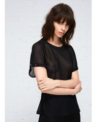 Paco Rabanne - Short Sleeve Top - Lyst