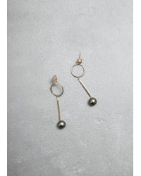 Mociun - Figure 1 Drop Earrings - Lyst