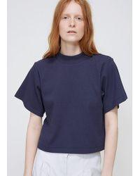 Ilana Kohn - Marine Rib Jersey Susie Shirt - Lyst