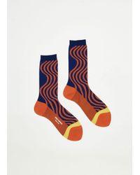Issey Miyake - Chromatic Wave Socks - Lyst
