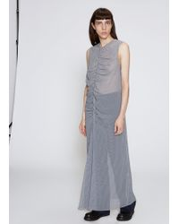 Nomia - Gathered Maxi Dress - Lyst