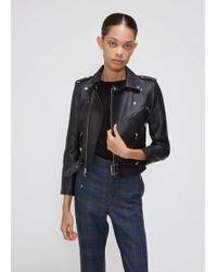Toga - Leather Jacket - Lyst