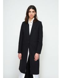 Ann Demeulemeester   Belted Top Coat   Lyst