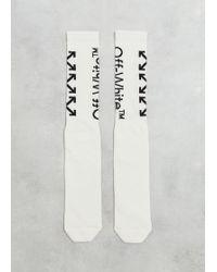Off-White c/o Virgil Abloh Arrows Sock