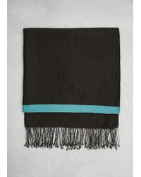 Issey Miyake - Lined Cashmere Stole - Lyst