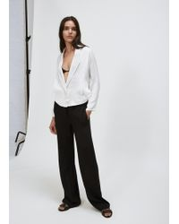 David Michael - White Crop Biaz Blazer - Lyst