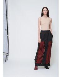 Maison Margiela - Black Decortique Long Skirt - Lyst