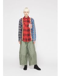 Needles - 7 Cuts Flannel Shirt - Lyst