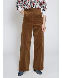 Toga - Corduroy Marine Trousers - Lyst