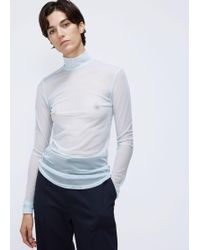 Nomia - Mesh Turtleneck - Lyst