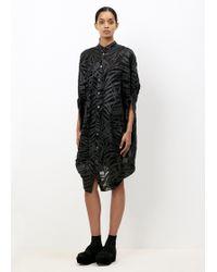 Junya Watanabe - Black Japanese Paper Dress - Lyst