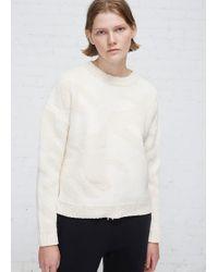 Viden - Cream Mari Sweater - Lyst
