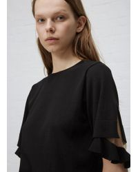 Toga Pulla - Black High Gauge Knit Top - Lyst