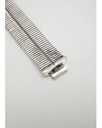 Sophie Buhai - Sterling Silver Lee Miller Double Cuff - Lyst