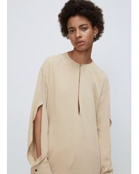 David Michael - Taupe Cypress Blouse - Lyst