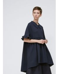 Xiao Li - Navy Short Sleeves Top - Lyst