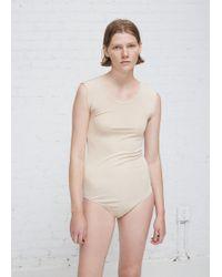 Viden - Nude Mel Bodysuit - Lyst