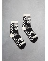 Henrik Vibskov - Heartbeat Socks - Lyst