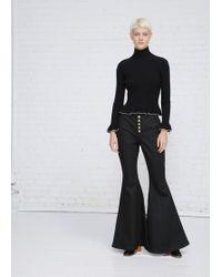 Ellery | Ophelia Wide Flare Leg Jean | Lyst