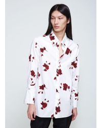 BED j.w. FORD - Rose Hi-neck Shirt - Lyst