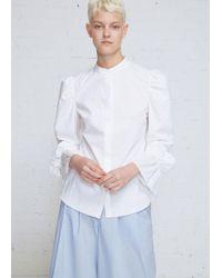 Xiao Li - Mutton Sleeve Shirt - Lyst