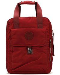 Dr. Martens - Dr. Martens Cherry Red Flight Large Backpack - Lyst