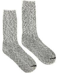 Red Wing - Black / White Cotton Ragg Crew Socks - Lyst