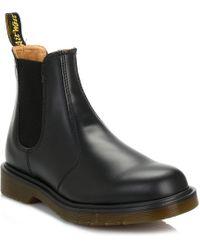 Dr. Martens - Dr. Martens Black 2976 Leather Chelsea Boots - Lyst